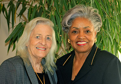 Judge Brenda Hill Cole received the Nellie Dunaway Duke Award for Leadership & Public Service.